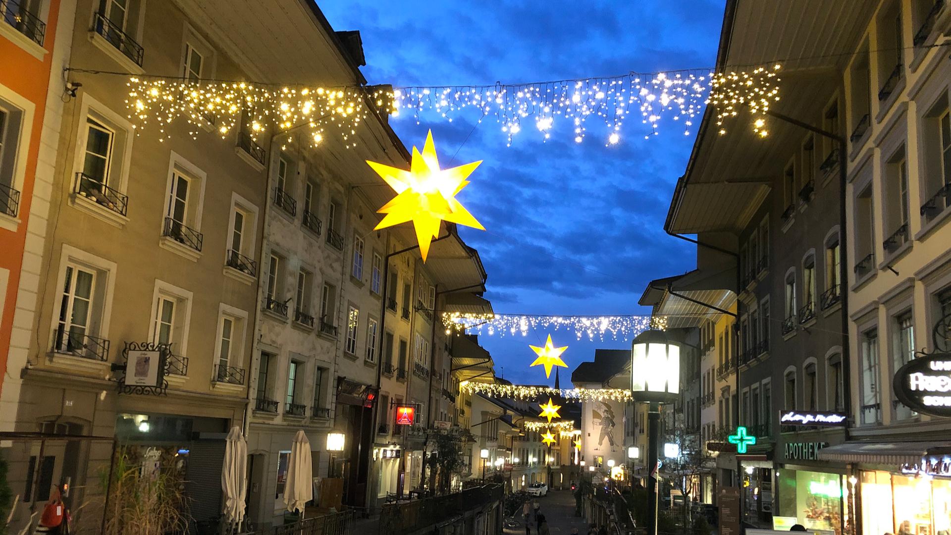 Advents-Wettbewerb - Shopping in der Thuner Innenstadt